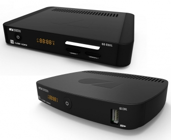 British design and new technical features of the General Satellite set-top boxes